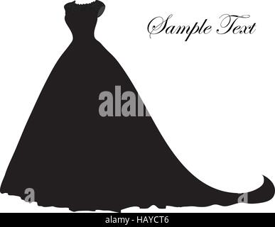 bride bridal dress silhouette abstract illustration of a bride on her stock photo royalty free. Black Bedroom Furniture Sets. Home Design Ideas