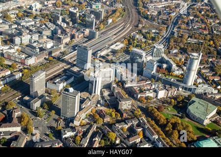 City of Essen / RWE Tower - Stock Photo
