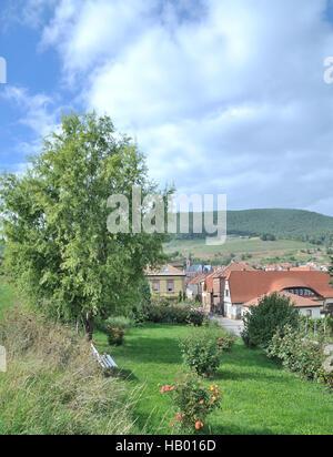 Sankt Martin,german Wine Route,Palatinate - Stock Photo