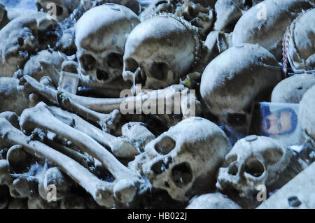 cemetery Fontanelle, Naples, Campania, Italy - Stock Photo