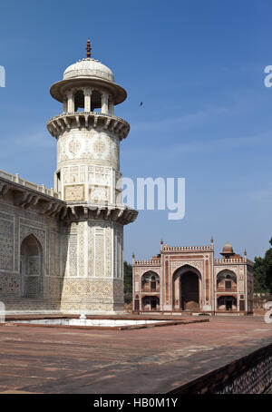Itmad-Ud-Daulah's Tomb (Baby Taj) at Agra - Stock Photo