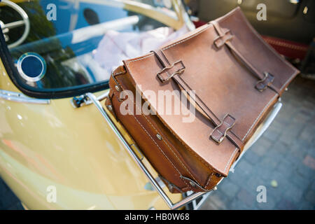 Case on the car - Stock Photo