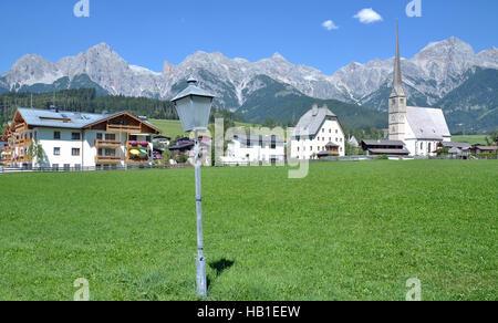 Maria Alm,Salzburger Land,Austria - Stock Photo