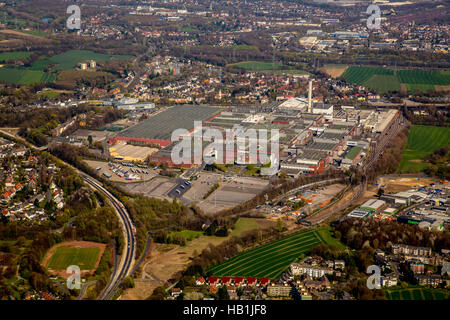 ex Car Manufacture of Bochum - Stock Photo
