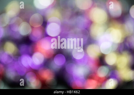 Photo of color lights with natural bokeh - Stock Photo