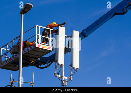 Construction Of Mobile Telecoms Mast In Uganda Africa