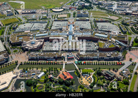 Centro Oberhausen shopping center, Neue Mitte, Oberhausen, Ruhr district, North Rhine-Westphalia, Germany - Stock Photo