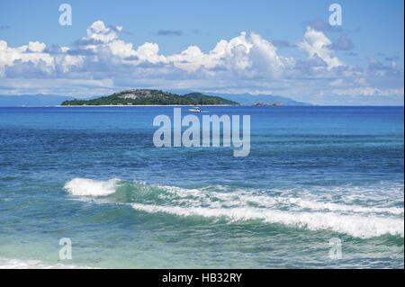 Indian Ocean, Seychelles. - Stock Photo