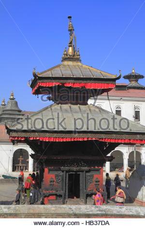 The Pashupatinath Temple - Stock Photo