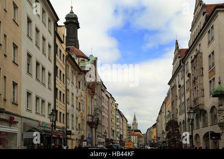 Munich, Sendlinger Road - Stock Photo