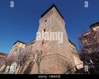 Tower of Settimo in Settimo Torinese - Stock Photo