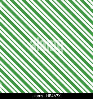 Green seamless tilted striped pattern packaging paper background in vector format - Stock Photo
