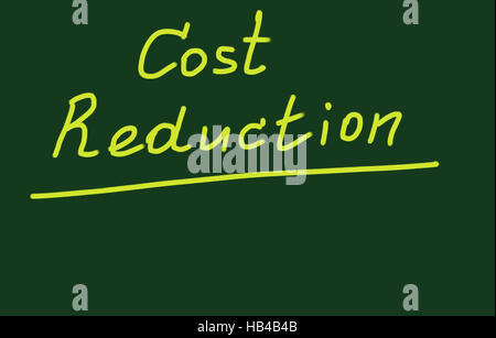 cost reduction - Stock Photo