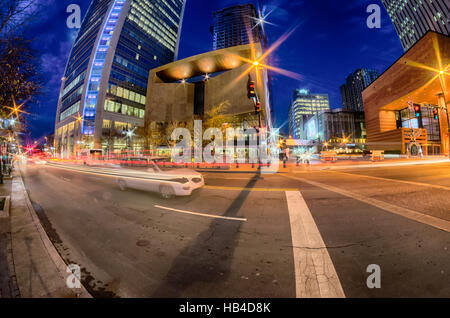 downtown of charlotte north carolina - Stock Photo