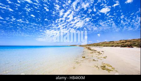 Coral Bay beach in Western Australia - Stock Photo