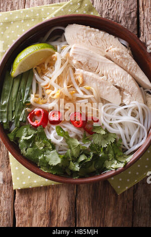 how to make vietnamese chicken rice soup