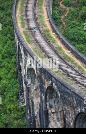 Nine arches bridge, Ella, Sri Lanka - Stock Photo