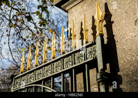 Bunhill Fields Cemetery and Burial Ground - Stock Photo