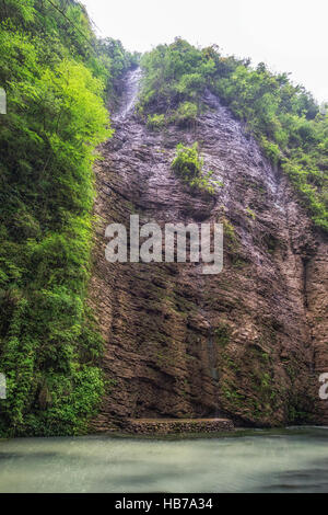 zhangjiajie grand canyon creek view - Stock Photo