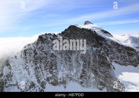 Swiss Alps in the Jungfrau region - Stock Photo