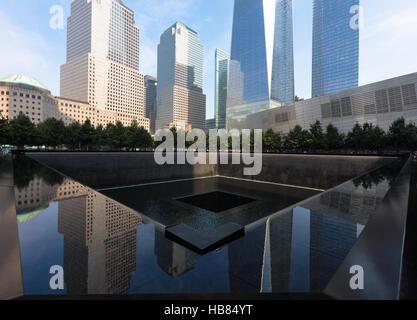 Memorial 9.11.2001 - Stock Photo