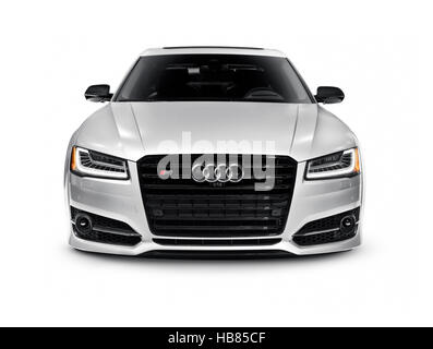 Car Front White Background