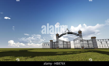 Gate to heaven - Stock Photo