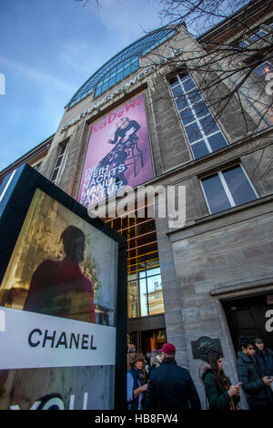 Chanel Berlin berlin germany the logo of chanel stock photo royalty free image
