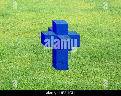 Tesseract aka Hypercube - Stock Photo