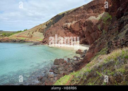 Ovahe Beach, Easter Island - Stock Photo