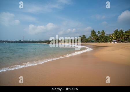 Hikkaduwa beach, Sri Lanka - Stock Photo
