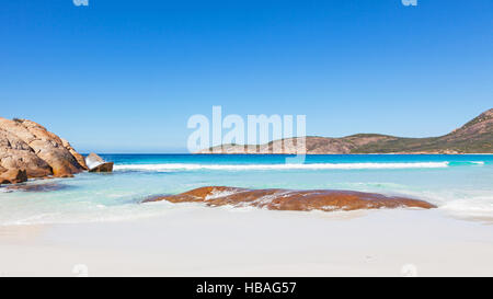 Thistle Cove Beach in Cape Le Grand National Park, near the town of Esperance in Western Australia. - Stock Photo