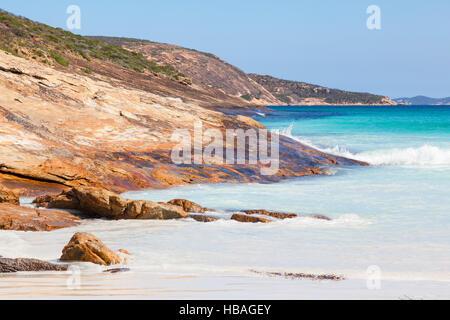 Le Grand Beach in Cape Le Grand National Park, near the town of Esperance in Western Australia. - Stock Photo