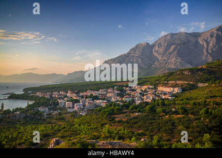 Promajna, Makarska Riviera, Croatia - Stock Photo