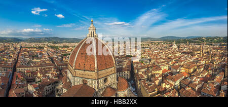 Panoramic view of Florence, Italy - Stock Photo