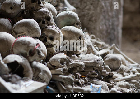 Ossuary in Naples - Stock Photo