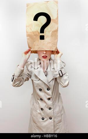 Hidden identity - Stock Photo