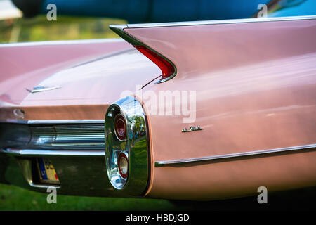 Back view of Cadillac de Ville - Stock Photo