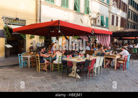bar on The Piazza Santo Spirito in Florence