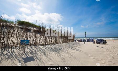 North Beach, Norderney Island, Germany - Stock Photo