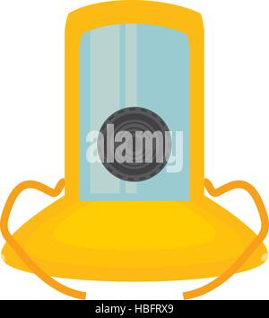 gas mask suit cover safety vector illustration eps 10 - Stock Photo