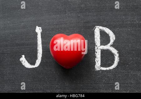 love job - Stock Photo