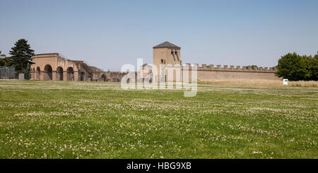 LVR-Archaeological Park, APX, Xanten, Lower Rhine, North Rhine-Westphalia, Germany - Stock Photo