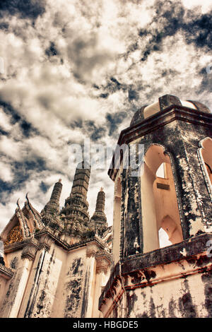 Central Stupa in the Phra Nakhon Khiri Historical Park - Stock Photo
