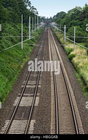 train track - Stock Photo