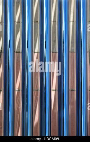 Tube Solar Collectors - Stock Photo