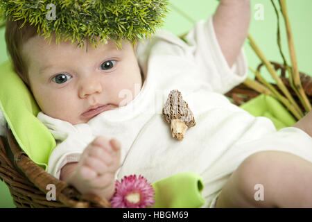 Babyportrait - Stock Photo