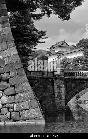 Imperial Palace, Tokyo, Japan, Asia - Stock Photo
