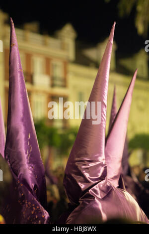 Easter procession, Seville, Spain - Stock Photo
