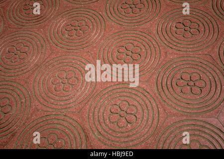 Granite Floor Pattern - Stock Photo